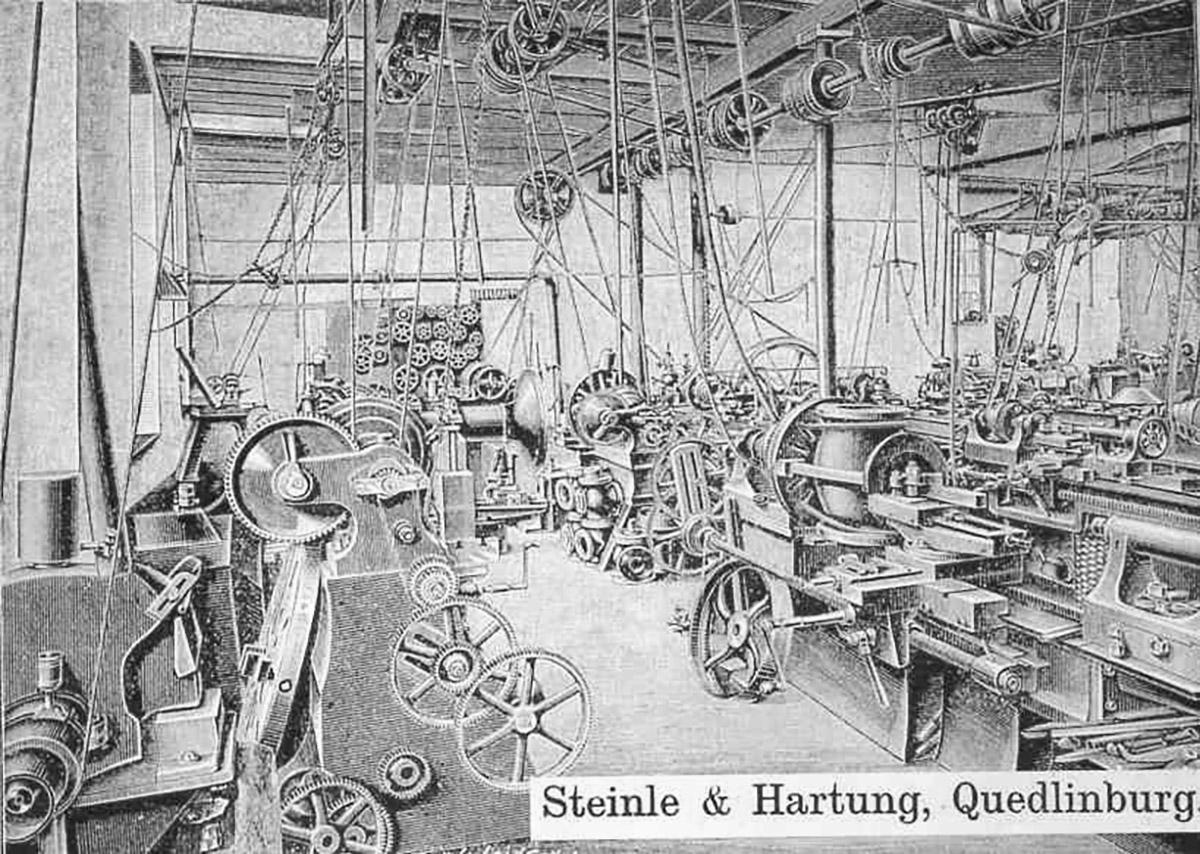 Fundición de hierro en Quedlinburg (Alemania), 1912