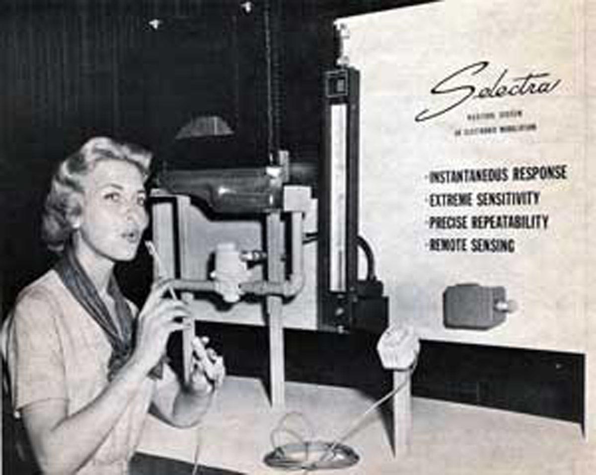 Selectra Werbung, 1962