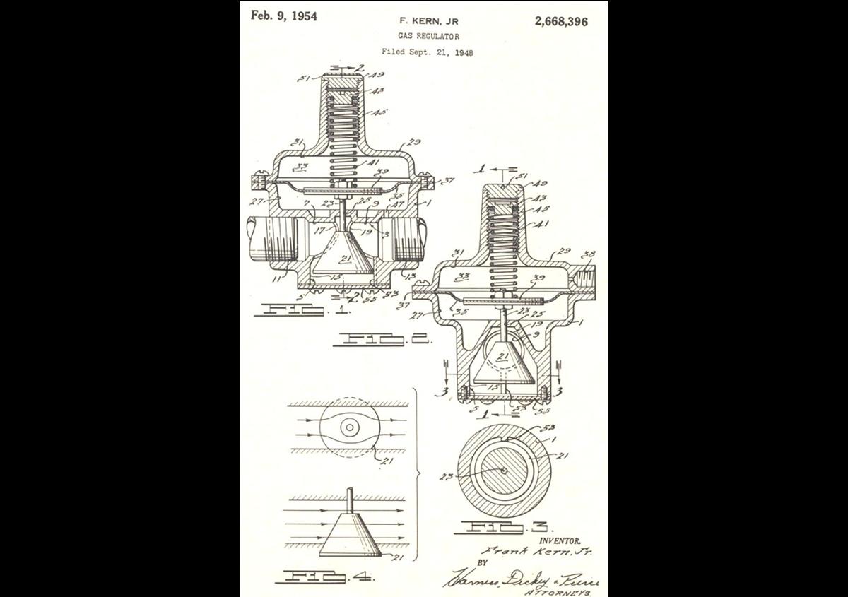 Patente – STF – Straight-Thru-Flow