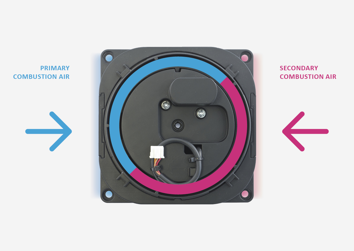 E–Flame Air Supply Channels
